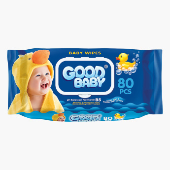 GOOD BABY Extra Soft and Special 80-Piece Baby Lotion Wipes