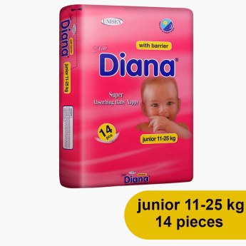 Diana Junior 14-Pack Diaper 11-25 Kgs