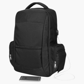 Alameda Diaper Backpack with USB Charging Interface