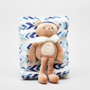 Hudson Baby Plush Blanket and Toy