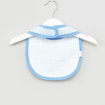 Hudson Baby Printed Bibs - Set of 3