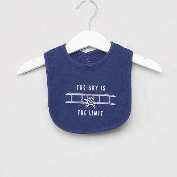 Hudson Baby Graphic Print Bib - Set of 5