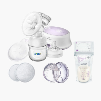 Avent Ultra Comfort Single Electric Breast Pump - Bundle Offer