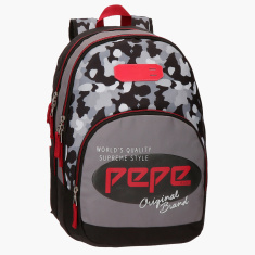 Pepe Jeans Kaim Printed Backpack