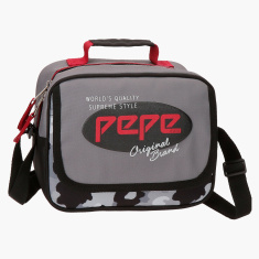 Pepe Jeans Camo Printed Lunch Bag