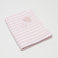 Juniors Striped Receiving Blanket - 76x91 cms