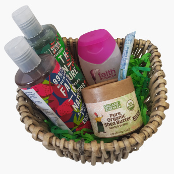 Faith in Nature & Organic Essence 5-Piece Maternity Care Gift Set