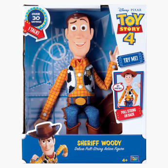 Toy Story 4 Woody Pull-String Action Figure - 16 inches