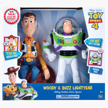 Toy Story 4 Woody and Buzz Lightyear Action Figures