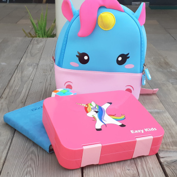 Eazy Kids Printed Lunch Box - Bundle
