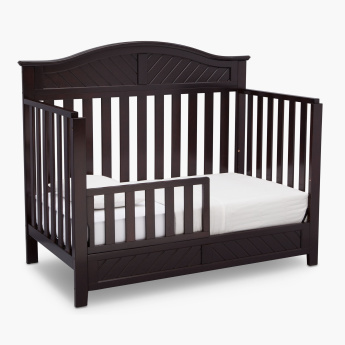 Delta Bennington Elite 3-in-1 Curved Crib with Toddler Guard Rail