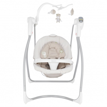 Graco Striped Baby Swing