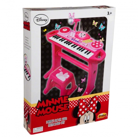 Minnie Rock Star Keyboard Set