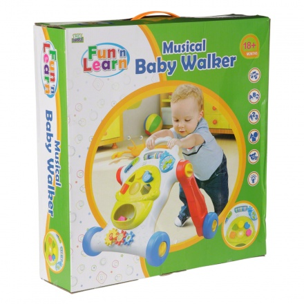 Fun and Learn Kidz Baby Walker