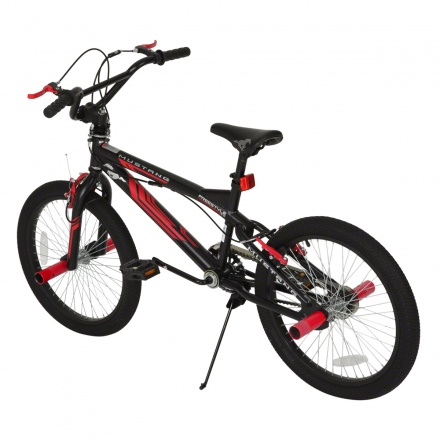 Mustang Black Freestyle Bike