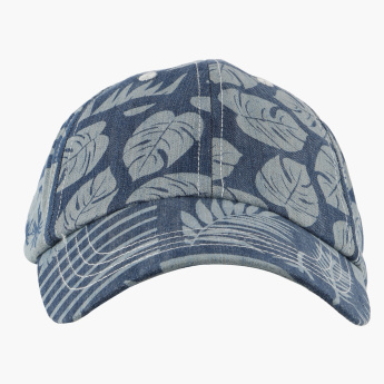 Bossini Reversible Printed Cap with Elasticised Band
