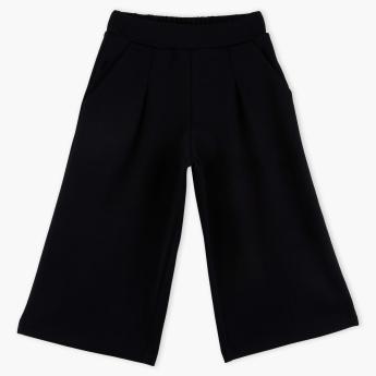 Bossini Wide-Leg Pants with Elasticised Waistband