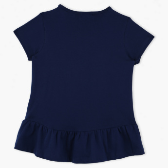 Bossini Round Neck Short Sleeves Top
