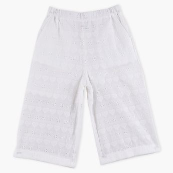 Bossini Textured Shorts with Elasticised Waistband