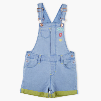 Bossini Pocket Detail Denim Dungaree