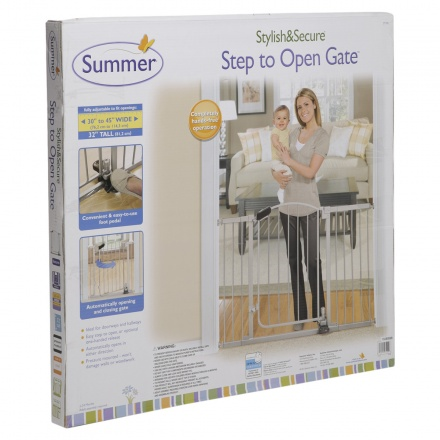 Summers Step To Open Gate