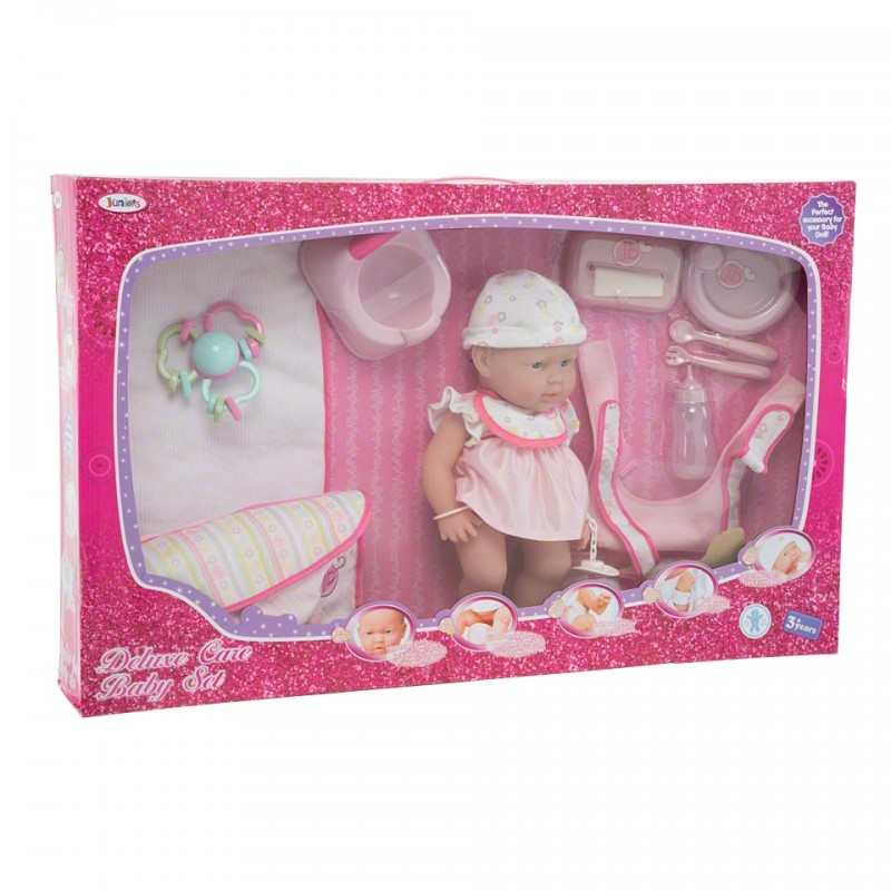 Juniors Deluxe Care Baby Set
