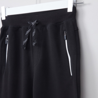 Bossini Pocket Detail Jog Pants with Drawstring