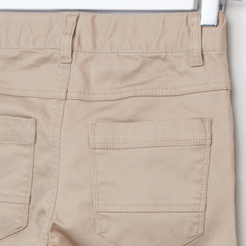 Bossini Full Length Pants with Pocket Detail