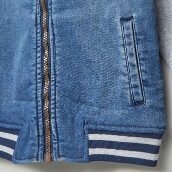 Bossini Stripe Detail Baseball Jacket