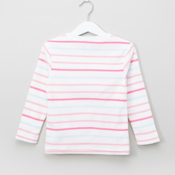 Bossini Striped Long Sleeves Pullover
