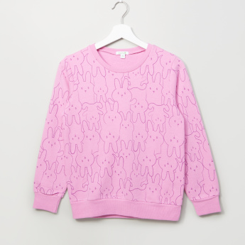 Bossini Printed Long Sleeves Sweatshirt