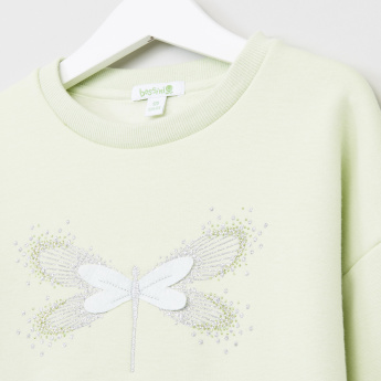 Bossini Printed Long Sleeves Sweat Top