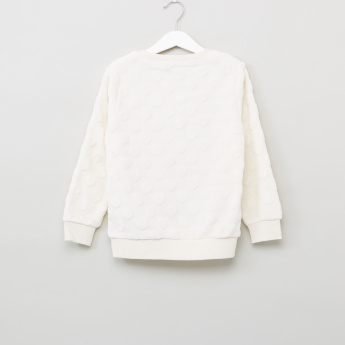 Bossini Textured Long Sleeves Sweat Top