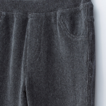 Bossini Ribbed Pants with Elasticised Waistband