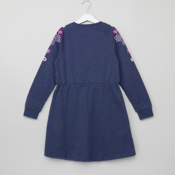 Bossini Embroidered Long Sleeves Dress