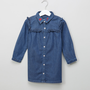 Bossini Denim Shirt Dress