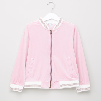 Bossini Long Sleeves Baseball Jacket