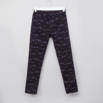 Bossini Printed Full Length Jeggings