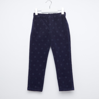 Bossini Printed Jeggings with Elasticised Waistband