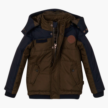 Koko Noko Padded Jacket with Long Sleeves and Hood