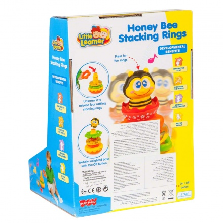 Hap-P-Kid Honey Bee Stacking Rings