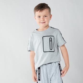 Bossini On The Go Pocket T-shirt with Short Sleeves