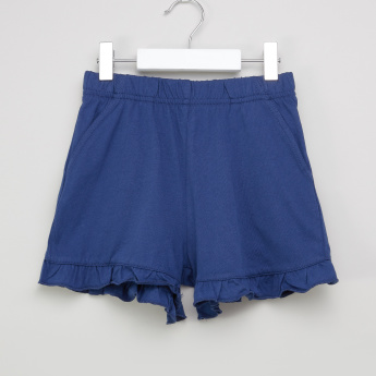 Bossini Ruffled Hem Shorts