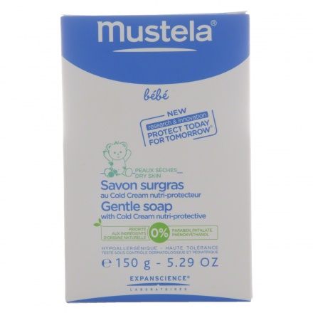 Mustela Soap with Nutri-protective Cold Cream