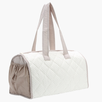 Juniors Quilted Bag with Zip Closure