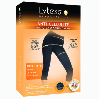 Lytess Anti-Cellulite Shapewear Capris with Elasticised Waistband