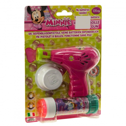 Minnie Mouse Bubble Gun