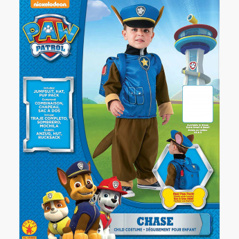 Rubies PAW Patrol Chase Deluxe Costume Set