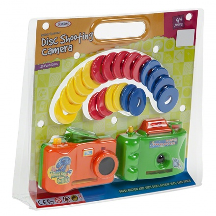 Juniors Disc Shooting Camera - Set of 2