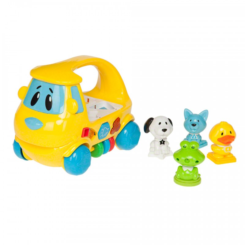 Juniors Animal Sorter Van